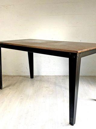 Table industrielle Scuola by DUTCHBONE