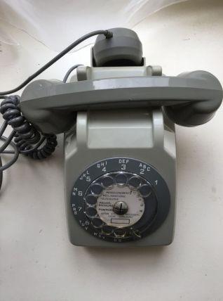 Téléphone gris pour deco ou collectionneur