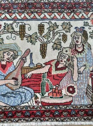 Petit tapis turc Iban