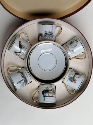 6 tasses à moka vintage