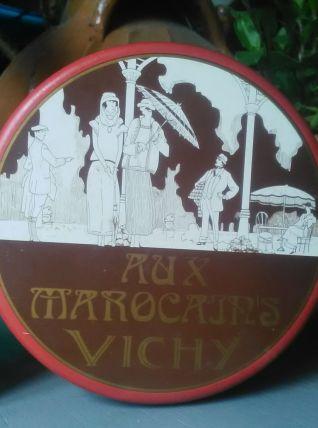Boite publicitaire en tôle lithographiée - Vichy