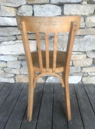 Chaise Baumann bistrot bois courbé