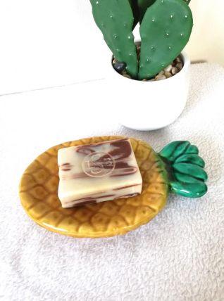 Coupelle vintage ananas Vallauris vide poche