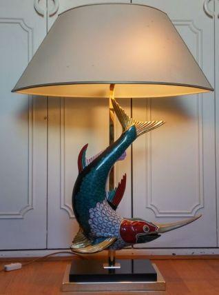 Lampe espadon vintage