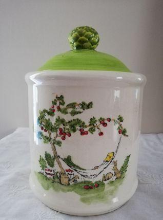 Boîte / pot  en céramique
