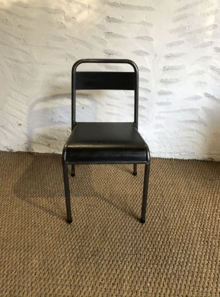 Chaise écolier enfant vintage