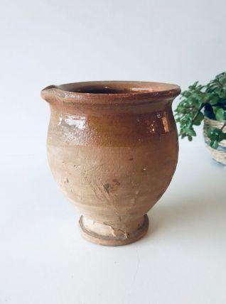 Pot ancien en terre cuite