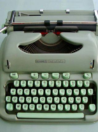 Machine à écrire Hermès 3000 années 60
