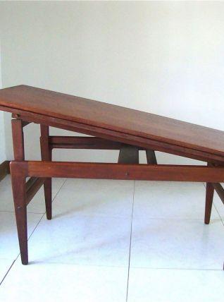 Table modulable par Kai Kristiansen, 1960
