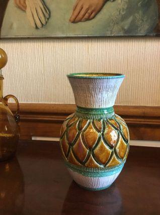 Vase ananas vintage