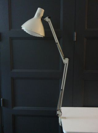 Lampe de bureau mid-century de Ledu, Suède