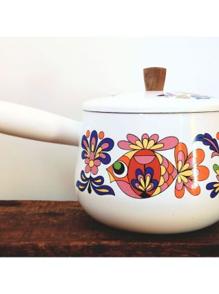 Caquelon à fondue vintage