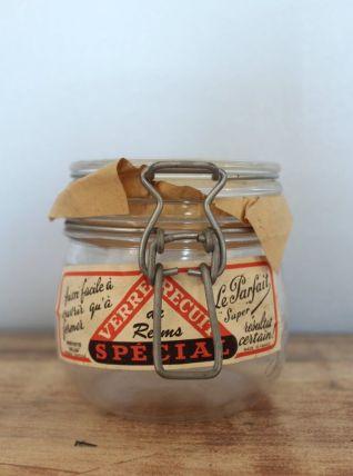 Authentique bocal LE PARFAIT de Reims 0,500L - 1930