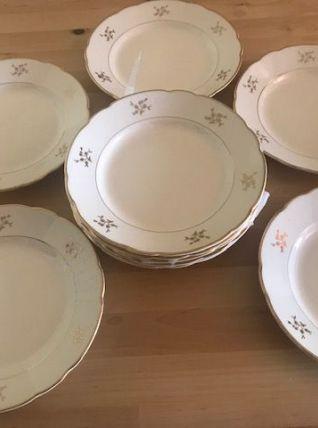 Assiettes à dessert porcelaine Villeroy et Boch