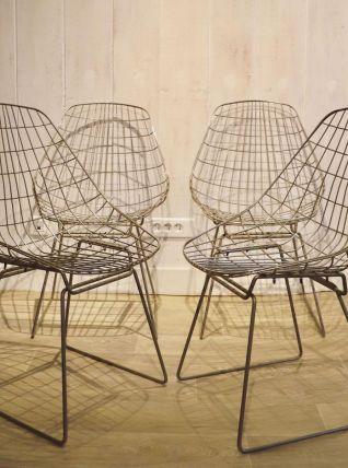 Chaises sm05 par Cees Braakman 1950
