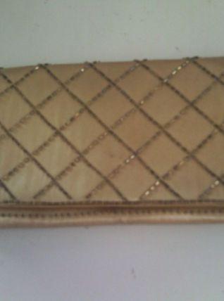 Pochette avec des perles vintage