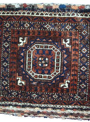 Sac ancien Afghan Baluch fait main, 1C384