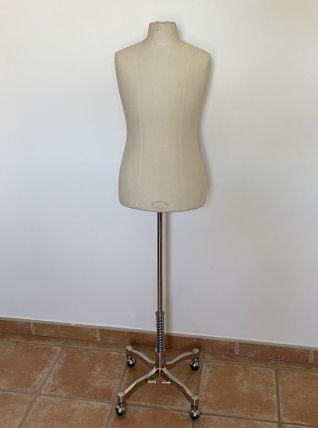 Mannequin de couture vintage. MANEX NY. 145x42.