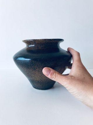 Vase bohème antique en terre cuite