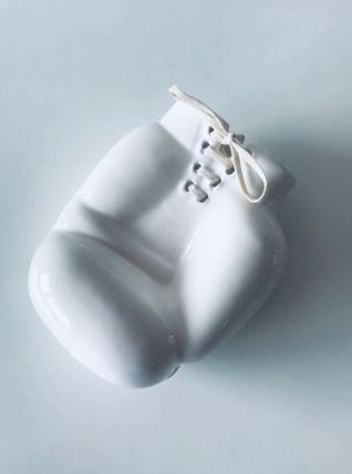 Vide poche gant de boxe en céramique