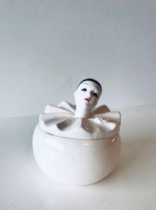Boîte pierrot en céramique