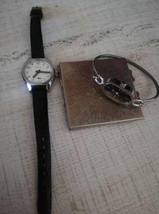 Lot de deux montre mécanique