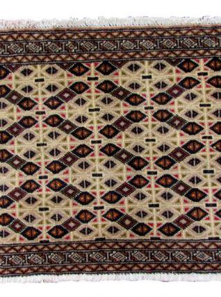 Tapis vintage Turkmène Tekke fait main, 1Q0145