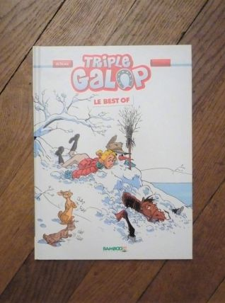 BD Triple Galop- Le Best Of- Du Peloux- Bamboo