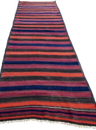 Tapis vintage Afghan fait main, 1Q0192