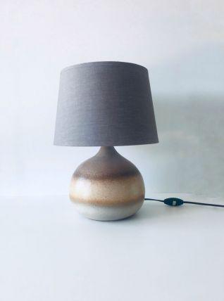 Lampe vintage boule en grès