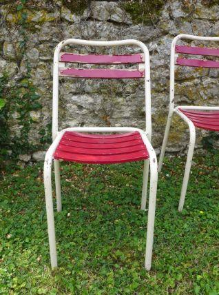 Paire de chaises Tolix Vintage