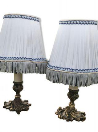 Paire de Lampes anciennes laiton