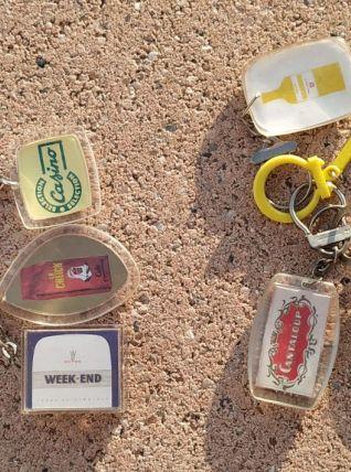 Porte clés publicitaire