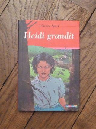 Heidi Grandit- Johanna Spyri- Casterman
