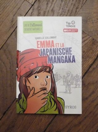 Emma Et La Japanische Mangaka- Isabelle Collombat-Tip Tongue