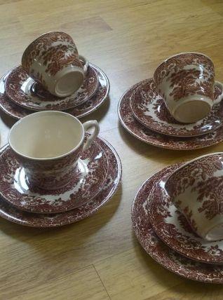 Service à thé/dessert English Ironstone Tableware Ltd