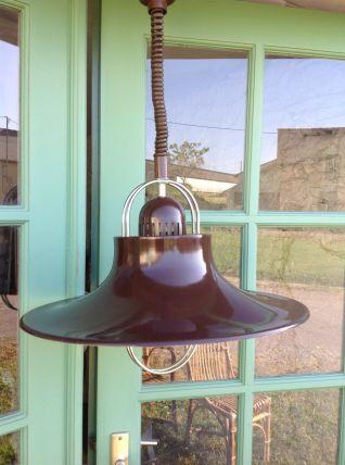 Suspension métal 46cm vintage