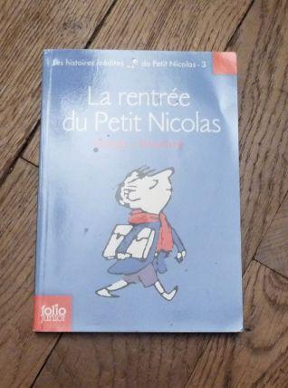 La Rentrée Du Petit Nicolas- Sempé- René Goscinny- Gallimard