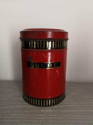 Boîte à sucre Vintage