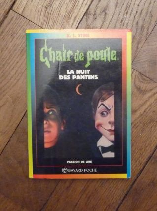 La Nuit Des Pantins- RL Stine- Chair de Poule n°2- Bayard