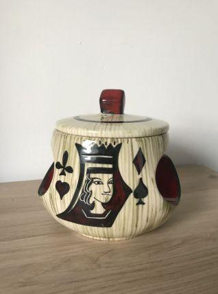 Pot à tabac vintage