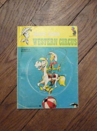 Lucky Luke- Western Circus- René Goscinny- Hodder and Stough