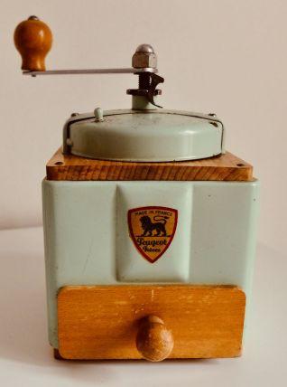 Moulin à café Peugeot vert d'eau