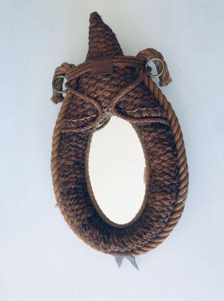 Miroir Audoux Minet en corde