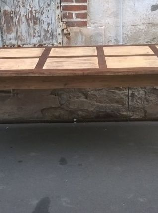 Ancienne table de ferme en sapin