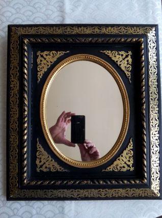 Miroir ovale Napoléon III