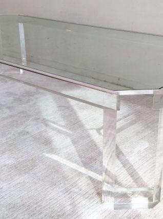 """Belle et grande table basse design """"ATHENA II""""  David Lange"""