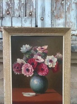 Tableau pot de fleurs