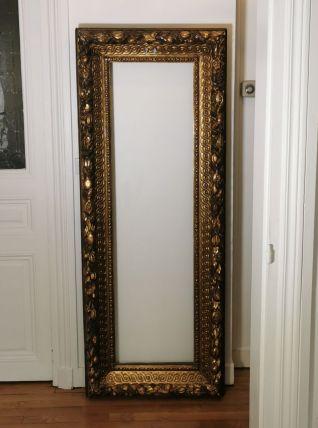 Grand cadre miroir époque XVII Louis XIV