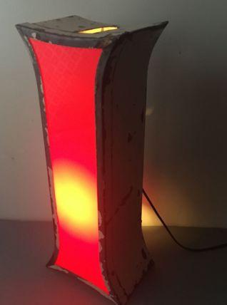 ANCIENNE LAMPE LETTRE D'ENSEIGNE LUMINEUSE VINTAGE